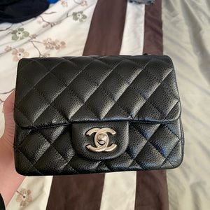 Chanel Black Square Mini